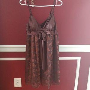 Max and Cleo dress. NWT. Size 10. Mahogany